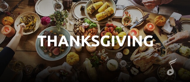 Playlist Thanksgiving Dinner